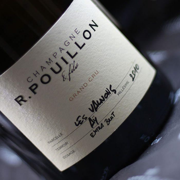 Champagne R.POUILLON & Fils - Les Valnons Extra Brut
